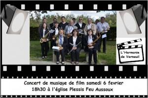 Affiche Concert Plessis Feu Aussoux
