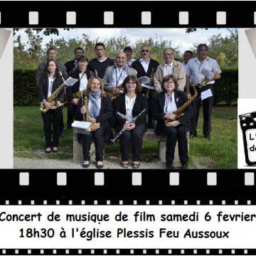 6 février 2016 : Concert de musiques de films