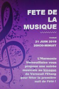 Harmonie-de-Verneuil-L'étang-Fête-de-la-Musique-2019