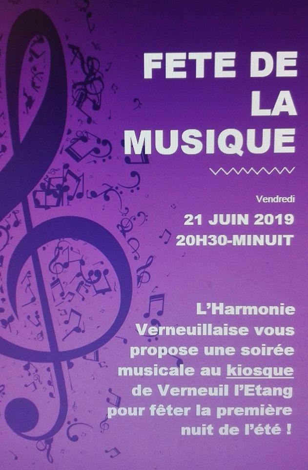 Fête de la Musique à Verneuil L'étang ♫