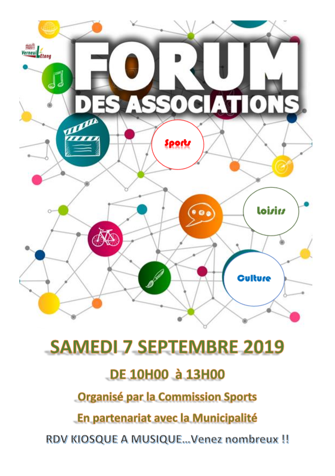 Forum des Associations 2019 à Verneuil l'Étang