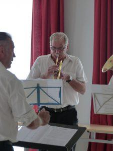 1sept 2019 harmonie vernuillaise à la mairie 3