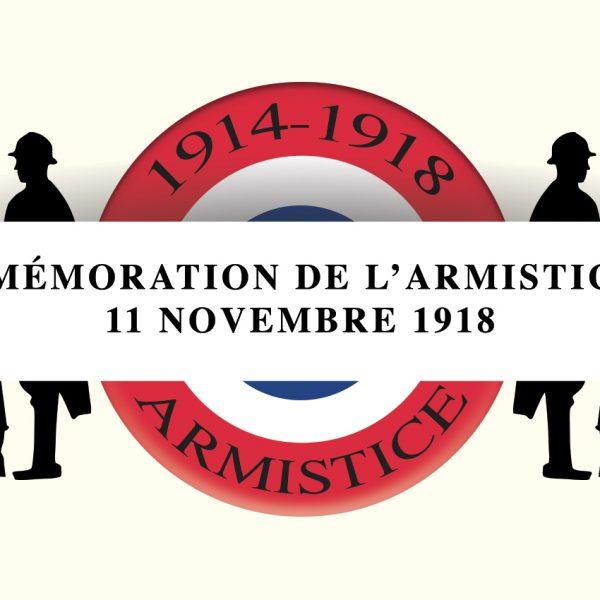 Commémoration de la fin de la 1ère Guerre Mondiale