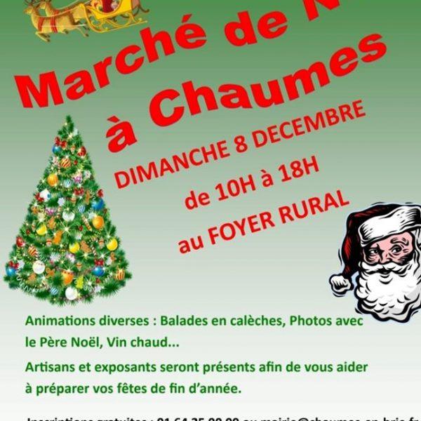 Marché de Noël Chaumes en brie