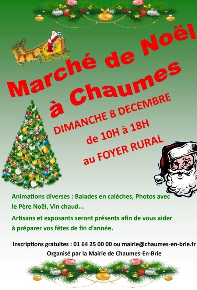 Marcher de Noël Chaume en Brie