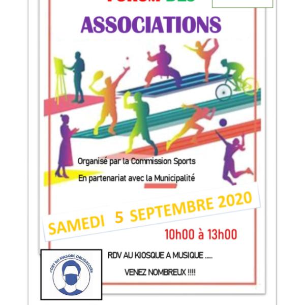 Forum des Associations 2020 à Verneuil l'Étang