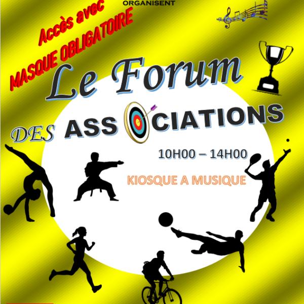 Forum des Associations 2021 à Verneuil L'étang
